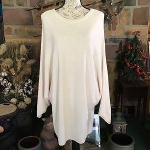 Dolman Sleeve Pullover Tunic